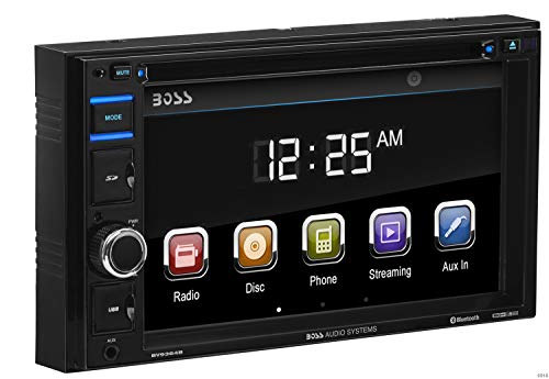 Car Stereo | BOSS Audio BV9364B Double Din, 6.2 Inch Digital LCD Monitor, Touchscreen, DVD/CD/MP3/USB/SD AM/FM, Bluetooth, Wireless - Double Din Kit