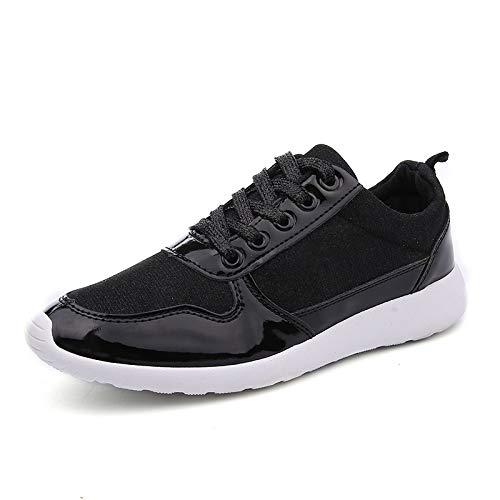 Tamaño Plata Transpirable Moda Caucho 36 black Zapato Mujer GUNAINDMX 41 Zapatos Casual Femme sneakers Oro Malla Mujeres Casuales d7zwUOn