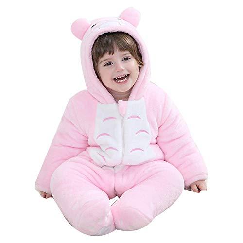 Unisex Baby Onesie Winter Romper Animal Pajamas Costume Cosplay ()