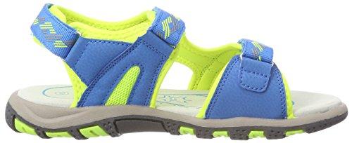 Lico Men's Luca V Closed Toe Sandals Blue (Blau/Lemon Blau/Lemon) pZHjTi