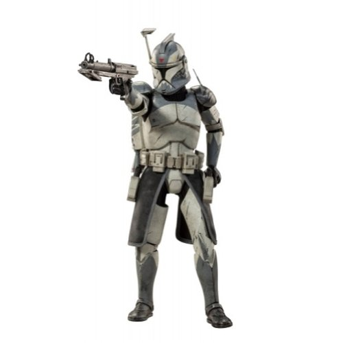 (SideShow Militaries of Star Wars 1/6 Scale Figure Clone Commander Wolffe)