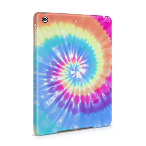 Tie Dye Rainbow Trippy Swirl Colorful Pale Rad Indie Boho Color Plastic Tablet Snap On Back Case Cover Shell For iPad Mini 2 & iPad Mini 3