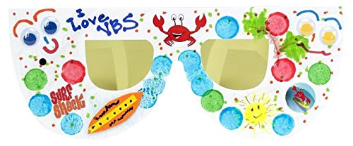 Vacation Bible School (VBS) 2016 Surf Shack Shine Bright Sunglasses (Pkg of 6): Catch the Wave of God's Amazing - Shack Sunglass
