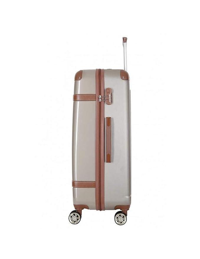 Platinium - Juego de maletas Beige beige L - 3 semaines: Amazon.es: Equipaje