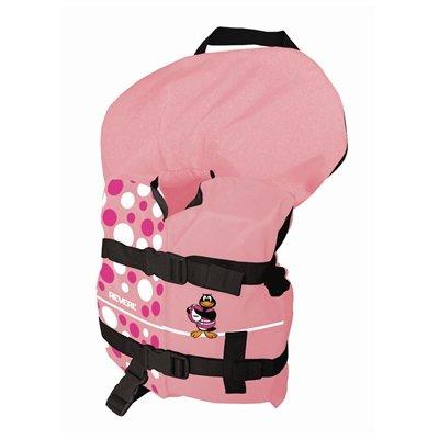 Girl's Light Pink Polka Dot Vest ()