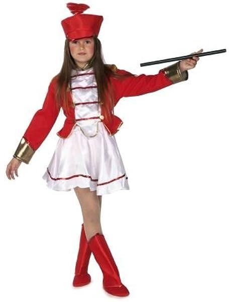 El Rey del Carnaval Disfraz de Majorete Infantil - Niña, de 4 a 6 ...
