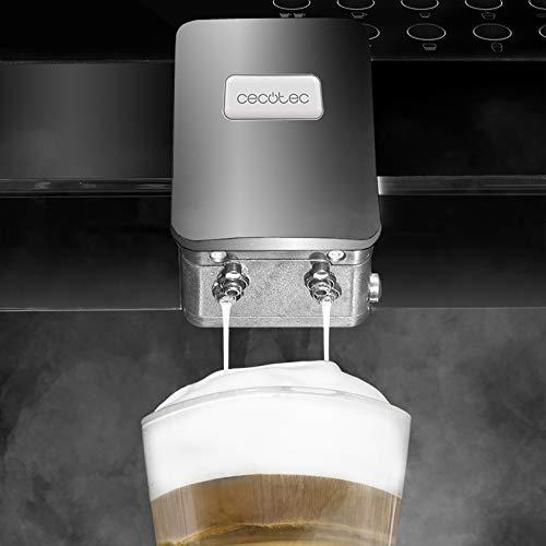 Cecotec Power Matic-ccino 7000 Independiente - Cafetera (Independiente, Cafetera combinada, 1,7 L, Molinillo integrado, 1500 W, Negro): Amazon.es: Hogar