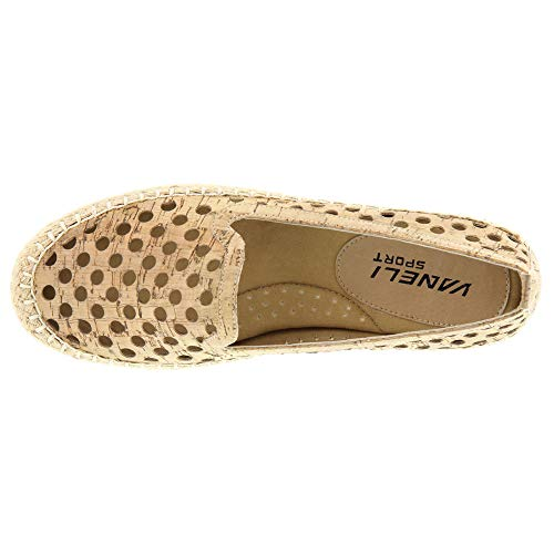 7 Taille Marron Loafer Couleur Eu Chaussures Natural Vaneli 38 Femmes 5 5 Cork xZFUqP