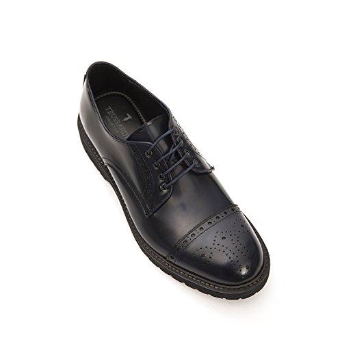 Trussardi Navy Chaussures Homme à Trussardi Hommes Pour Collection Lacets Collection qxwd4zIq