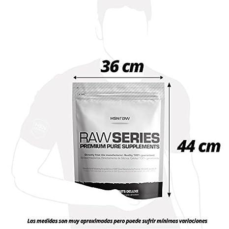 HSN RAW Clara de Huevo en Polvo 100% Proteína Natural sin Grasas, sin Colesterol y sin Sabor - 2000 gr: Amazon.es: Salud y cuidado personal