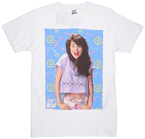 Saved by the Bell Kelly Kapowski T-Shirt White