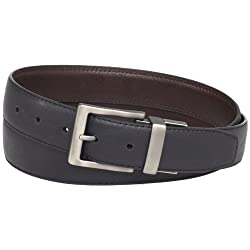 Dickies Men's 35 Milliimeter Reversible Belt With Logo Buckle