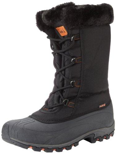 Kamik Women's Rival Snow Boot - Black - 6 B(M) US