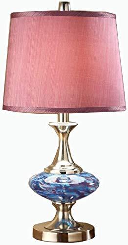 TZZ lámpara de Estilo Victoriano Escritorio de Cristal Moderno con ...