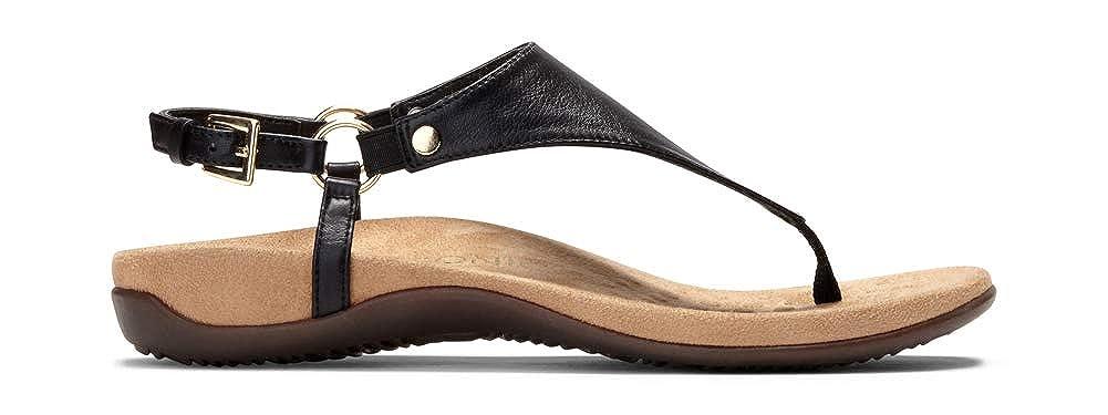 d3797b397c2c Amazon.com  Vionic Women s Rest Kirra Backstrap Sandal - Ladies Sandals  with Concealed Orthotic Arch Support  Shoes