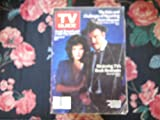 Tv Guuide (Lindsay Bloom & Stacy Keach of Mickey Spilane's Mike Hammer)