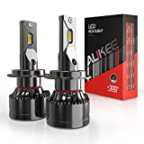 H7 LED Headlight Bulb, Aukee 110W High Power 18,000LM Extremely Bright 6000K Cool