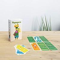 Papageno – Lúdilo 53228, Juego de Mesa Educativo para niños, Juegos de Cartas para Llevar de Viaje, Jugar en Familia, Games to go: Amazon.es: Juguetes y juegos