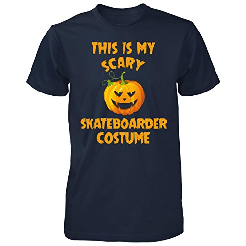 [This Is My Scary Skateboarder Costume Halloween Gift - Unisex Tshirt Navy 3XL] (Skateboarder Costume)