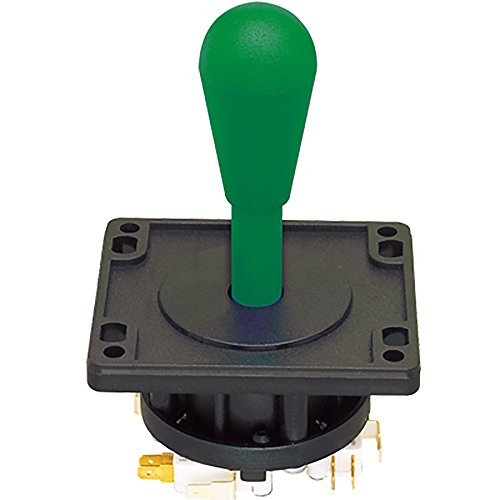 Happ Ultimate Joystick 8 Way with Switches- Green ()