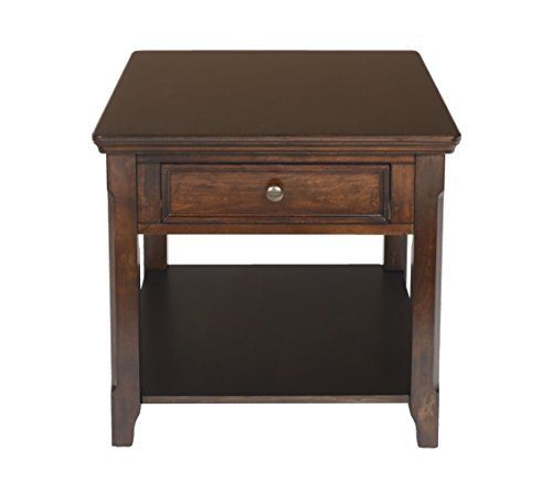 New Classic Timber City Sable End Table -