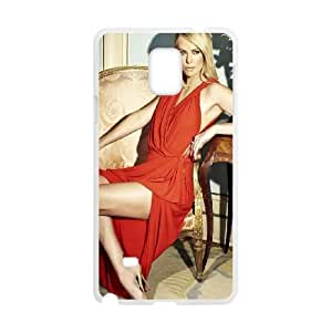 Samsung Galaxy Note 4 Cell Phone Case White Luxurious Charlize Theron VIU900077