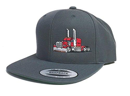Trucker Hat Diesel Big RIG Cap Flat Bill Snapback (Diesel Men Accessories Hats)