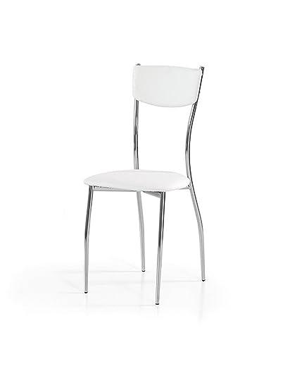 Lo Scrigno Arredamenti, Set 6 Sedie Moderne In Metallo Sedia Cucina ...