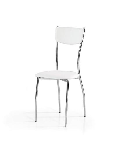 Lo Scrigno Arredamenti, Set 6 Sedie Moderne In Metallo Sedia ...
