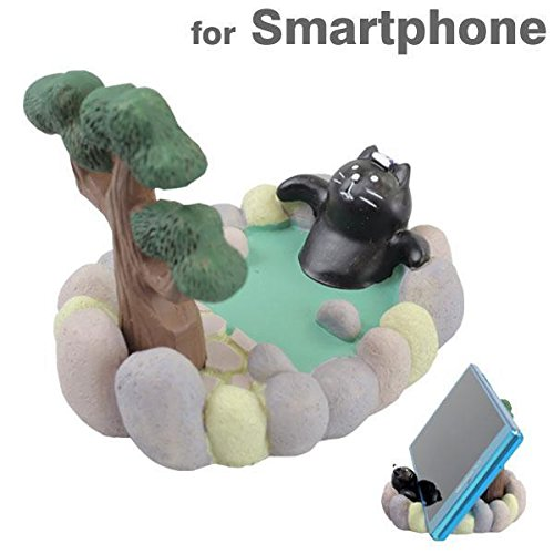 chilling-theater-cat-smartphone-stand-black