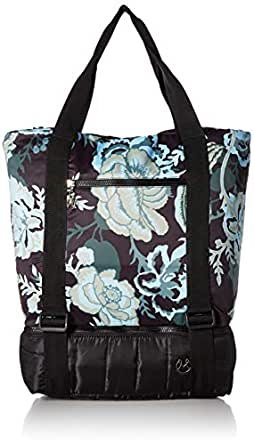 Maaji Womens Floret Printed Velour Gym Bag, Multi One Size