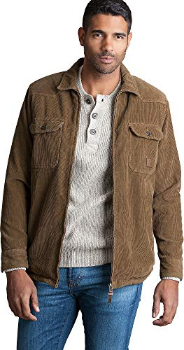 Overland Sheepskin Co Nash Sherpa-Lined Corduroy Shirt Jacket