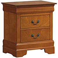 Glory Furniture G3160-N Night Stand, Oak