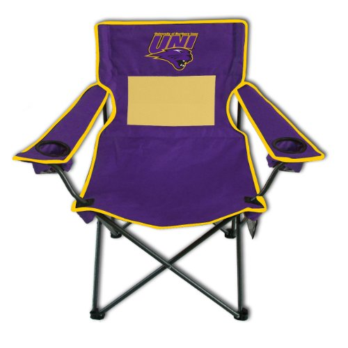 Folding Monster Chair Mesh - Rivalry NCAA Northern Iowa Panthers Monster Mesh Folding Chair