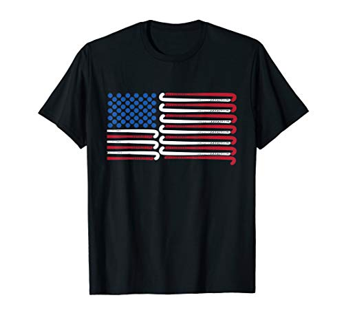 - Field Hockey American Flag with Blue Balls for Stars