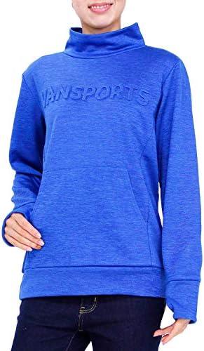 トレーナー 長袖 VANSPORTS(バンスポーツ) カチオン裏同色エンボスロゴハイネックトレーナー 「スポーツウエア」 レディース 裏起毛 再帰反射 指通し付き ポケット付 M L LL 3L ピンク ブルー グレー クロ NEW 冬