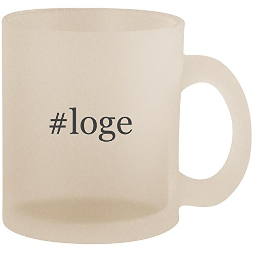 #loge - Hashtag Frosted 10oz Glass Coffee Cup Mug ()