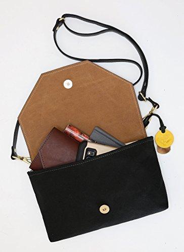 Signature Patton Canvas Leather Crossbody Brown Black Brown Canvas nbsp; Black Handbag Leather dqwqFOr