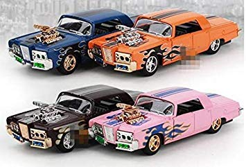 1 43 Alloy car Models, high Simulation Modified Models, highend Ornaments with Sound and Light Back to Power