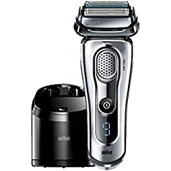 Braun Series 9 9095cc Wet and Dry Electric Shaver with Cleaning Center