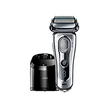 Braun Series 9-9095cc Wet and Dry Foil Shaver for Men with Cleaning Center, Electric Men's Razor, Razors, Shavers, Cordless Shaving System
