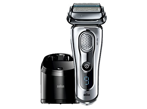 Cheap Braun Series 9-9095cc Wet and Dry Foil Shaver for Men with Cleaning Center, Electric Men's Razor, Razors, Shavers, Cordless Shaving System