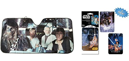 Star Wars Accordion Sunshade freshener
