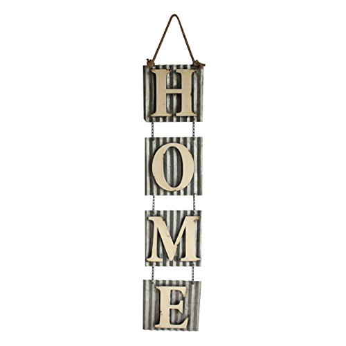 Backyard Expressions 906063 Metal Hanging Outdoor Wall Art Sign ...