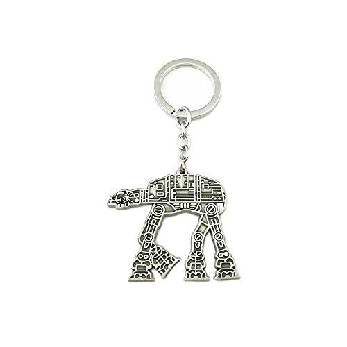 AT-AT Walker Star Wars Sci-fi Movies Cartoons Comics Key Ring Keychain for House Boat Auto Keys -