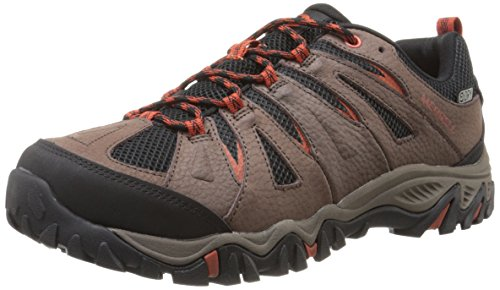 Bracken Footwear - Merrell Men's Mojave Waterproof Hiking Shoe, Bracken, 9.5 M US