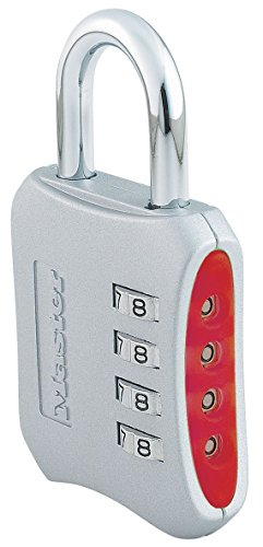 Locks For Lockers (Master Lock Padlock, Set Your Own Combination Lock, 2 in. Wide, Assorted Colors, 653D)