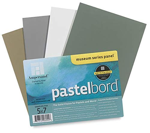 Ampersand PB405 Pastelbord Assortment - Pack of 4 by Ampersand Press