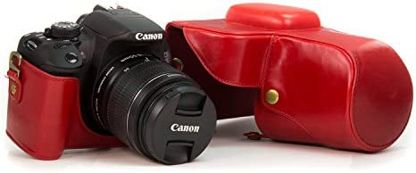 MegaGear Ever Ready – Rojo Funda para cámara réflex Digital Canon ...