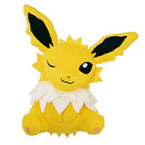 Banpresto Pokemon - Banpresto Beverly Pokemon 37790A Sun & Moon Relaxation Time Jolteon Stuffed Plush